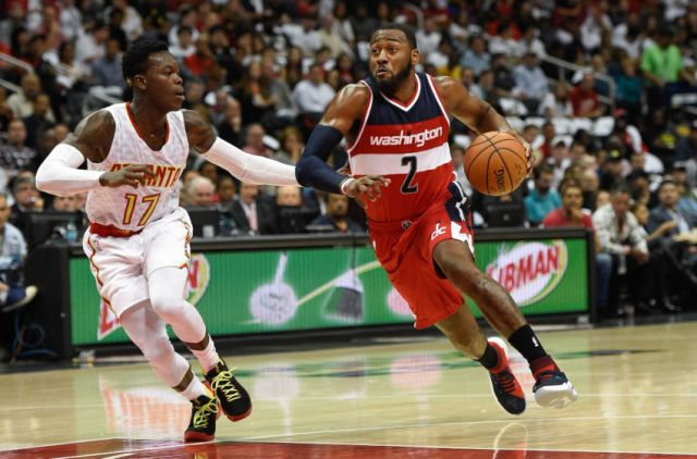 John Wall, the all-star Washington Point Guard, versus Dennis Schroder, the German Atlanta Hawks Point Guard. (Photo credit to http://soaringdownsouth.com/2017/03/22/atlanta-hawks-vs-wizards-matchup/)