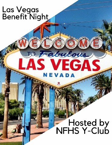 The Las Vegas Benefit Night was designed by students in Y-Club to help two deserving people with hospital bills to come. It will be night full of fun probability games and prizes.