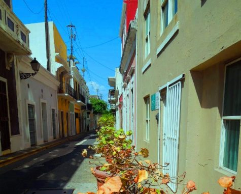 The streets of Puerto Rico's capital, San Juan, were once crowded with tourists for most of the year, but now the city lays mostly emptied of tourists.  The island has struggled to right itself in the wake of the two hurricanes which hit it hard in September of this year.