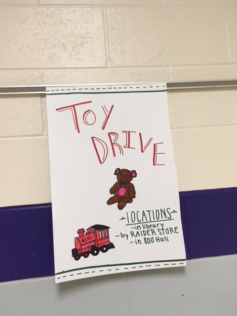 The toy drive hosted by NEHS is just one of several club drives at North.  Try and get involved this holiday season by donating or volunteering in our community!