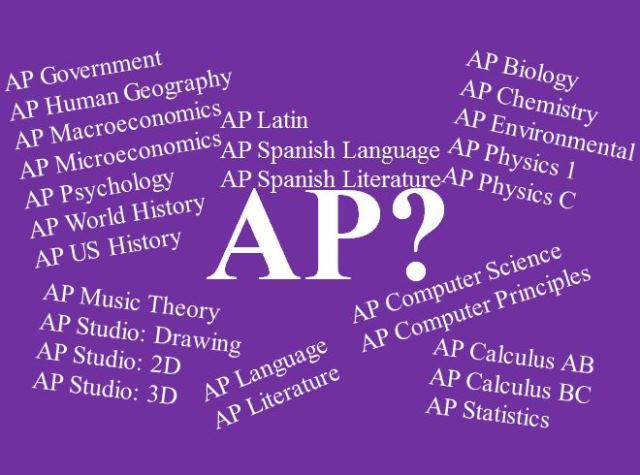 So many AP classes, so little time!