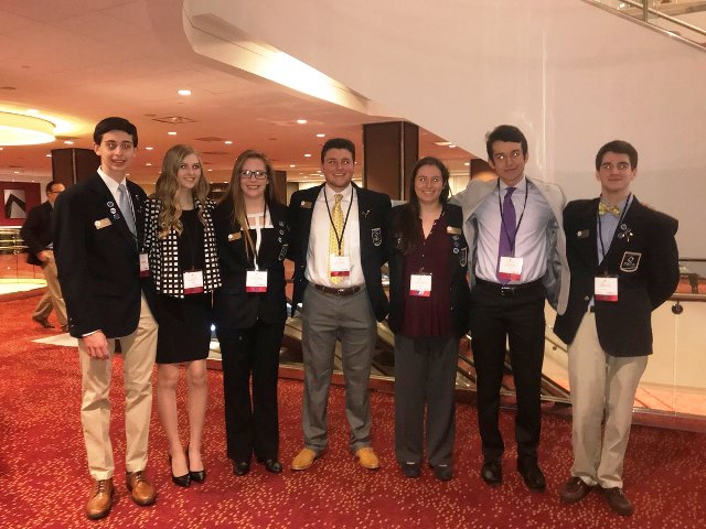 : A noticeable chunk of North's finest students missed school for the first few days of February to travel to Atlanta and compete against other schools in the state DECA competitions. After countless hours of dedication to perfecting plans, ten Raiders won finalist positions in various categories and two NFHS DECA competitors in particular won a first place state award.