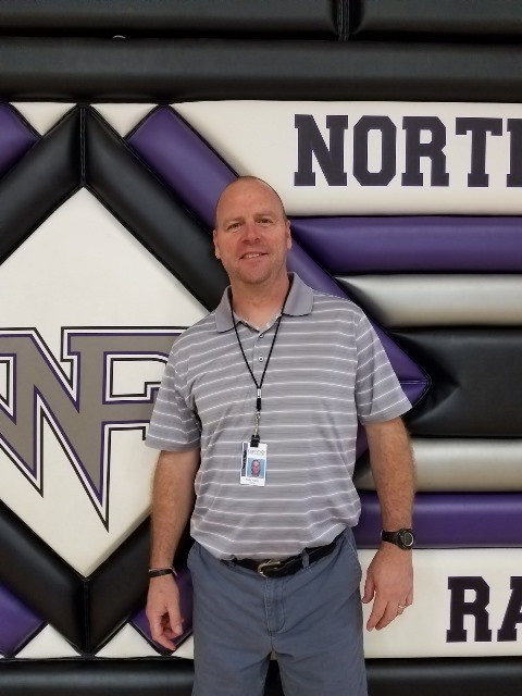 Here is North Forsyth High School's newest addition to coaching, Andy Martin. Coach Martin is hoping to inspire all Raiders to reach their goals through a healthier lifestyle.