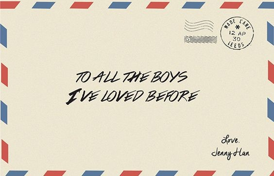 What would you do if you wrote letters to all the boys you have ever loved...and they were sent? Photo by Korhz Galia.