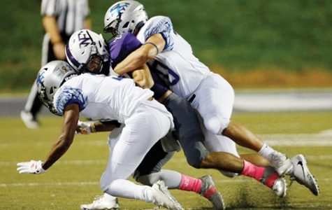 Raiders Fall Short 34-35 Against War Eagles Football Team