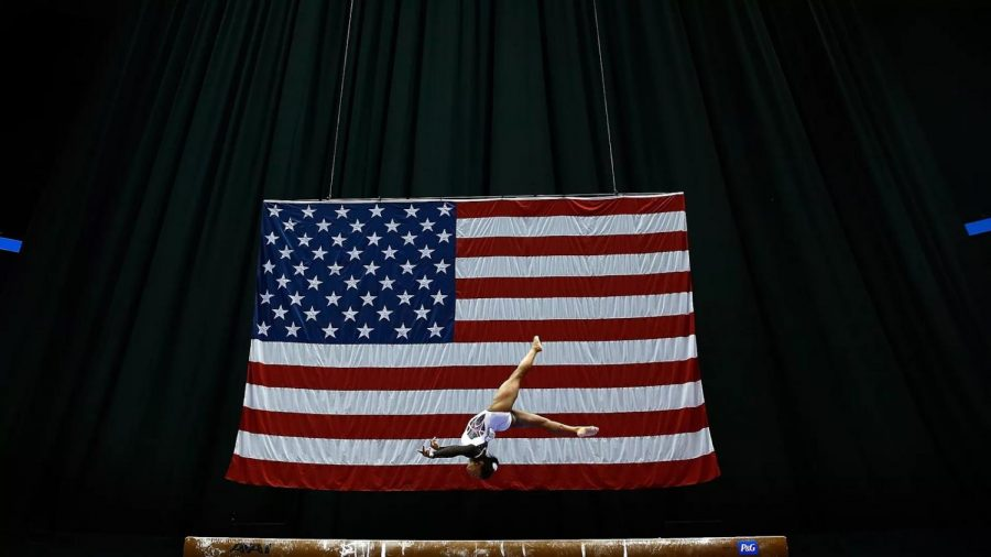 USA Gymnastics has suffered many scandals, which the US Olympic Committee feels are too damaging to come back from. Therefore, they are making strides to revoke their status. Photo from Axios.