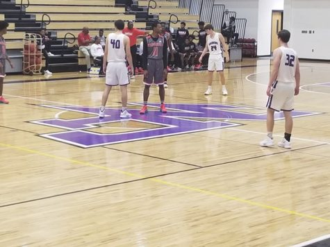 Raiders Basketball Battle Against Osborne Cardinals, Win 56-43
