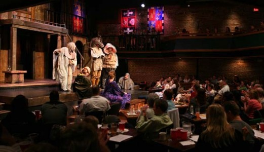 The Shakespeare Tavern is a fun place to watch Shakespeare's classic writings come to life. (Photo taken from Google Images.)