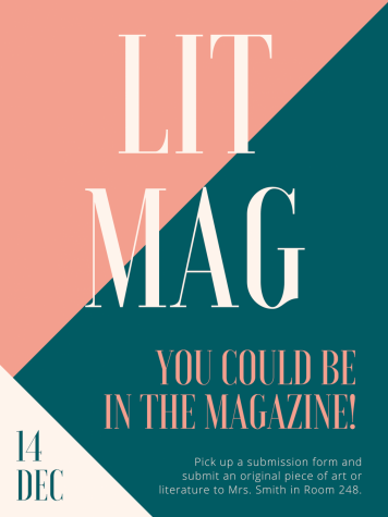 Submissions for the Threshold Literary Magazine are Due December 14