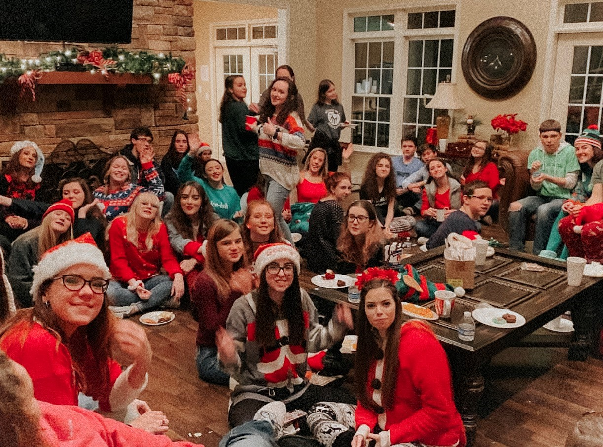 The NFHS choir had a very busy Christmas season this year. They had many caroling events, as seen in the photo, as well as prepared for the annual concert. The choir has enjoyed the season and wants to thank everyone who came out to their 2018 holiday concert.