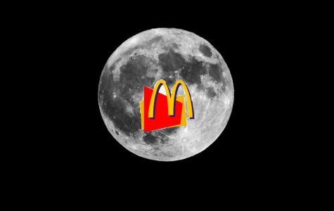 McDonald's Deposits $40 billion for Their New Location on the Moon