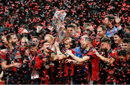 This marks the first time Atlanta United won a trophy in the two years that they have been a team.