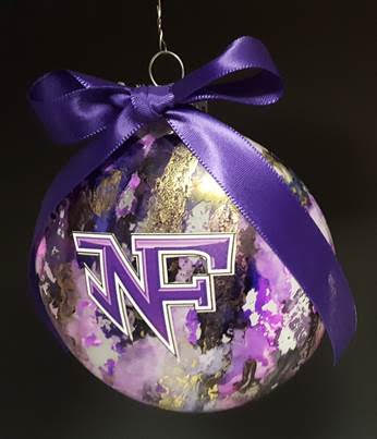 The NFHS art club is selling $10 handmade ornaments. Email Amy Henke at ahenke@forsyth.k12.ga.us to reserve an ornament.