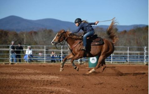 North Students Participate in a Winter Barrel Race
