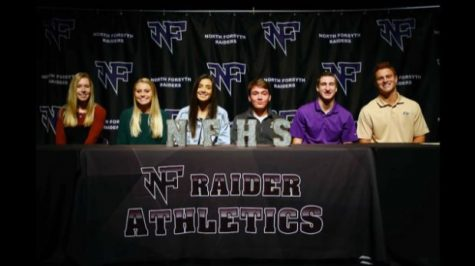 Raider Athletes Sign on to Play on in College