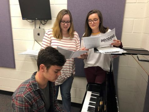 Students at NFHS are eligible to audition for Chamber Choir and Cantamus Choir. The audition includes a range test and sight-reading, which help show how well the auditionee is able to hold their part.