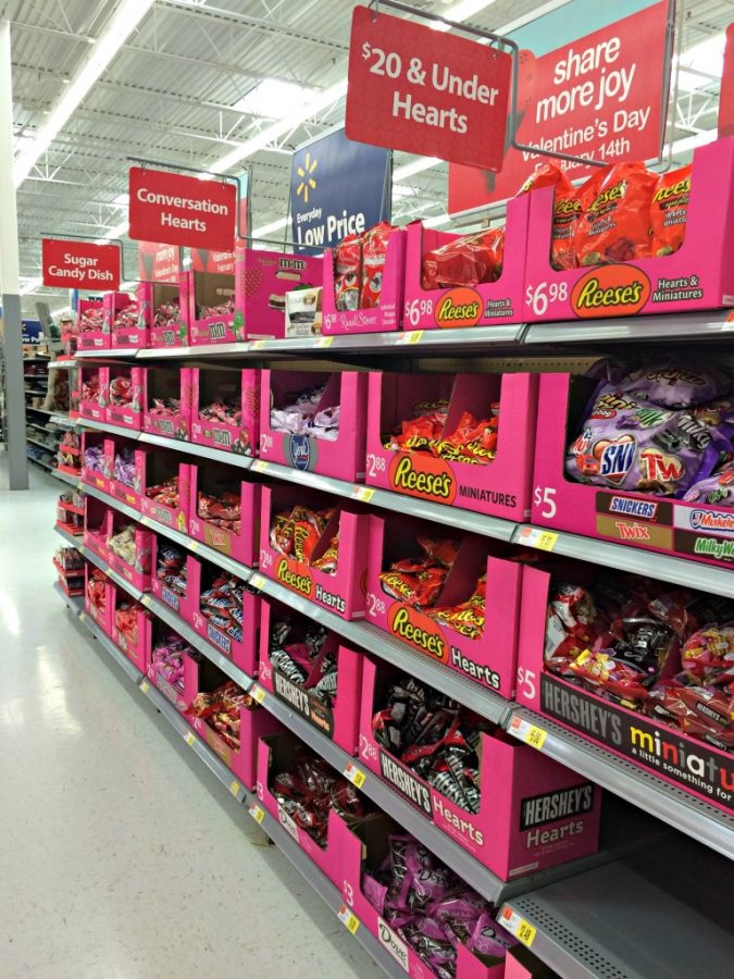 As Valentine's Day makes its way around the corner, couples start their shopping for excessive amounts of candy, jewelry, cards, stuffed animals and all things hearts. Is this holiday just another way for companies to make money?