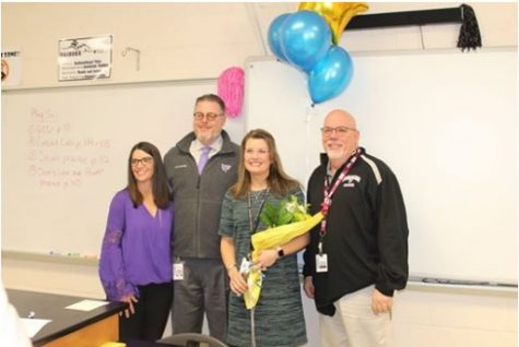 Mrs. Dykes, NFHS Finalist For District TOTY