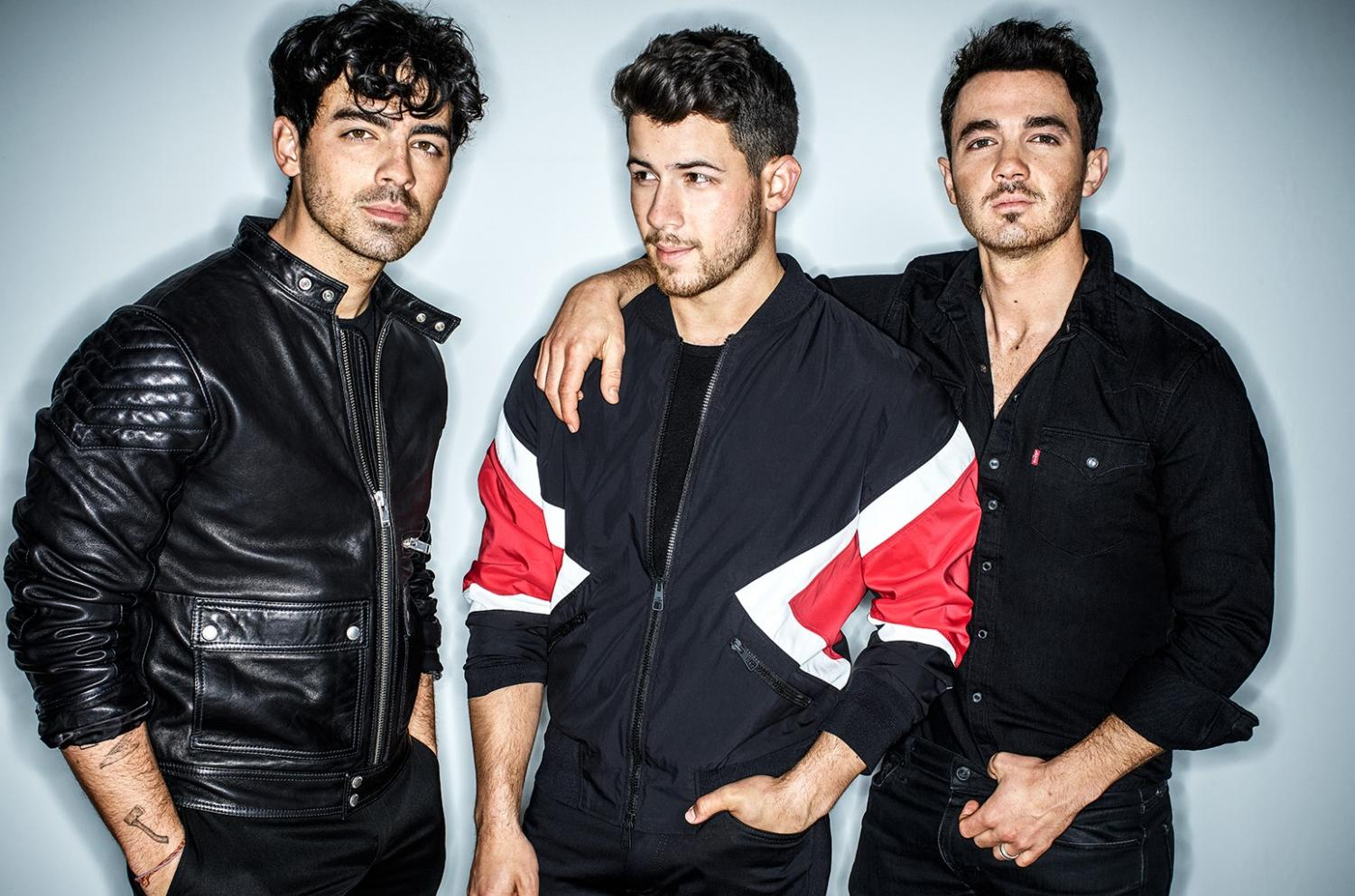 Caption: The Jonas Brothers made an unexpected but much needed return in early 2019. The band not only reunited, but they also released a single immediately after announcing their comeback. (Photo credits: Billboard Magazine--https://www.billboard.com/articles/columns/chart-beat/8500981/jonas-brothers-return-pop-songs-chart-new-single-sucker.)