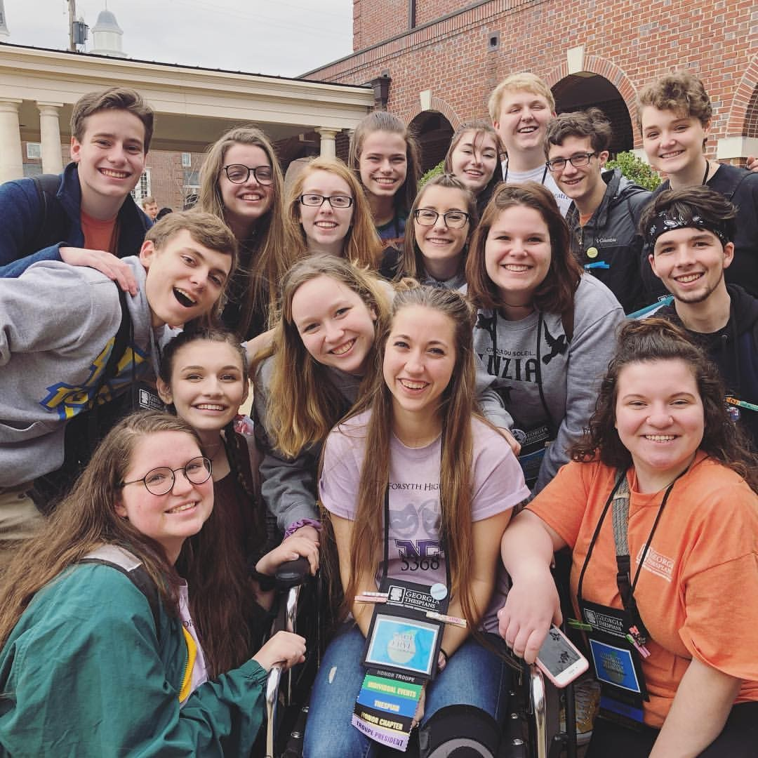 NFHS Thespians had a blast at ThesCon 2019!