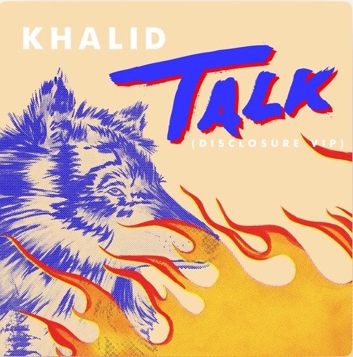 "Khalid's single ""Talk"" is a great example of a crossover between pop music and R&B. (Photo from Apple Music.)"