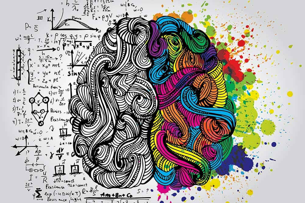 The right brain craves creativity and art, while the left thrives off of academics and logic. The arts keep students balanced and give them a way to express themselves. The arts need to be protected because if we lose them, we all become the same. (Photo from  https://milady.cengage.com/blog/right-vs-left.)