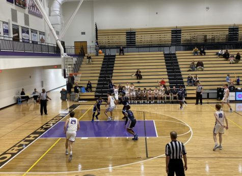 North Forsyth Boys Varsity Basketball Team Beats Cass 51-45