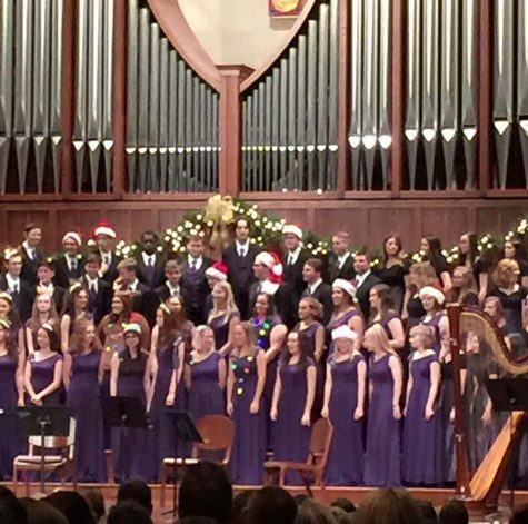 North Forsyth Choir Puts on Their 2019 Holiday Concert