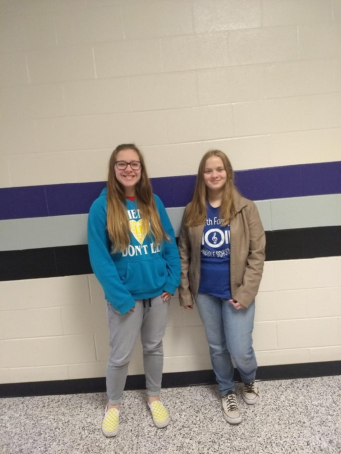 Freshmans Eva Watson, and Amber Cabezas both watched Frozen II, and loved it.