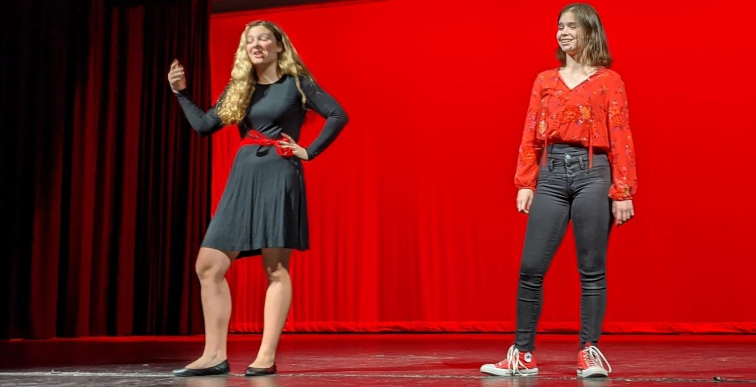 "Jen Vincent and  Harley Asbro performed ""Anything You Can do""  at Pack The Pac."