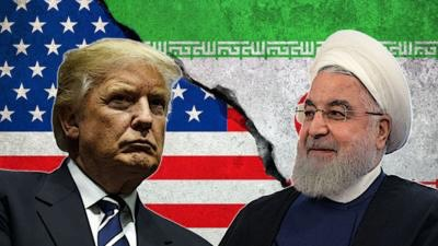 Donald Trump and Ayatollah Ali Khamenei addressed the public over the strikes and attacks in Iran. Photo by Getty Images.