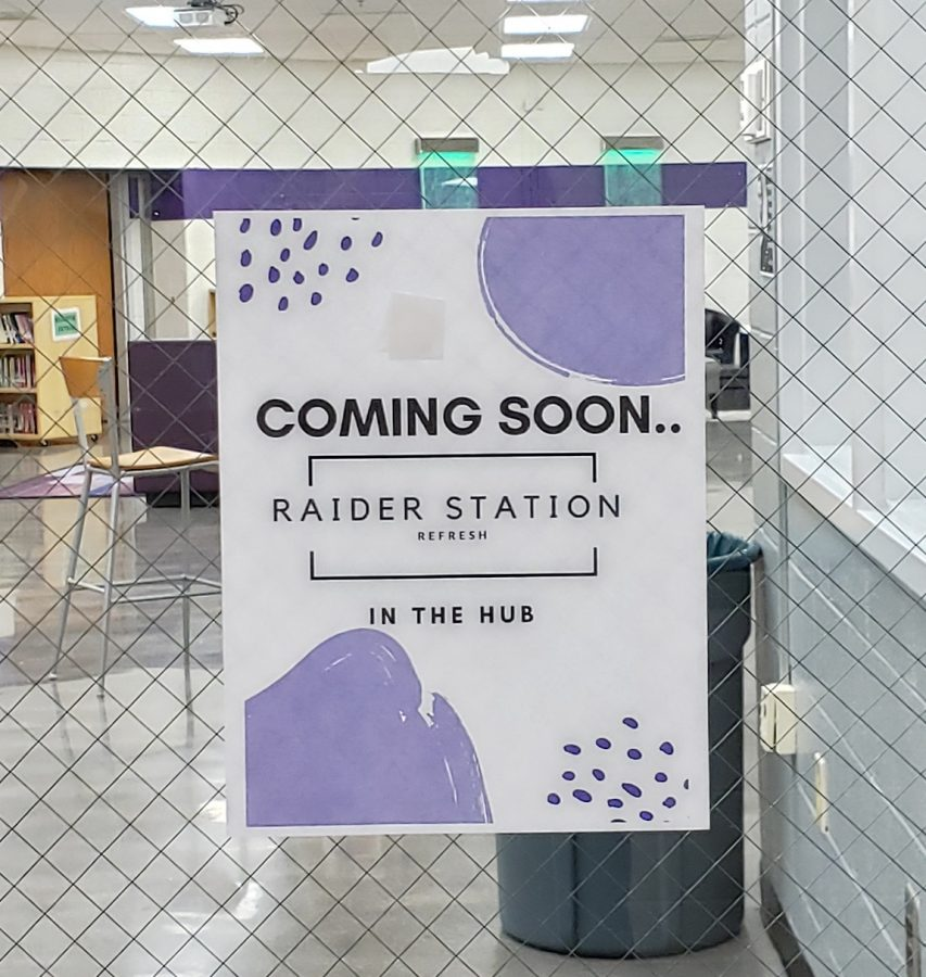 A new addition to the Hub is opening soon, the Raider Station Refresh. It will sell beverages such as lemonade, tea, juice, and soda. It is non-food based and it will be open at lunch.