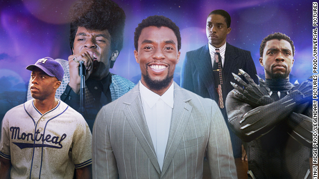 Fans and family of Chadwick Boseman are honoring and remembering him after he passed away on Aug. 28. Photo from CNN.