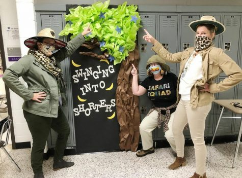 Raider Nation participated in a door decorating contest the week of Oct. 26-30. Clubs and teachers were able to create elaborate door designs for Homecoming week. Photo by @nfhsraiderwire on Instagram.