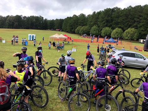 North's riders prepare to race at Dauset Trails.