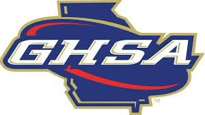 The logo for the Georgia High School Association, also known as GHSA, who created the COVID regulations for sports this year. Photo from GHSA.