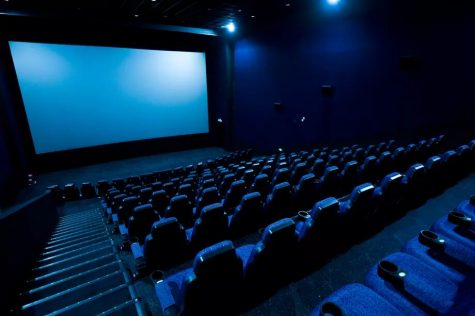 With the tragic lighting and empty seats, this image perfectly represents the downfall and recent decline in theatres. Photo credit: Shutterstock.