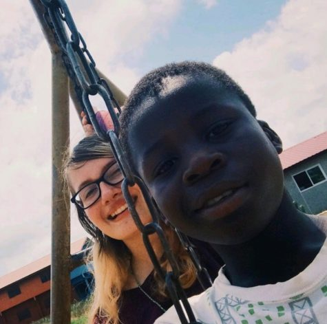 Junior Carena Ravenal during her most recent trip to Ghana in 2020. Photo by: Carena Ravenal (Instagram).
