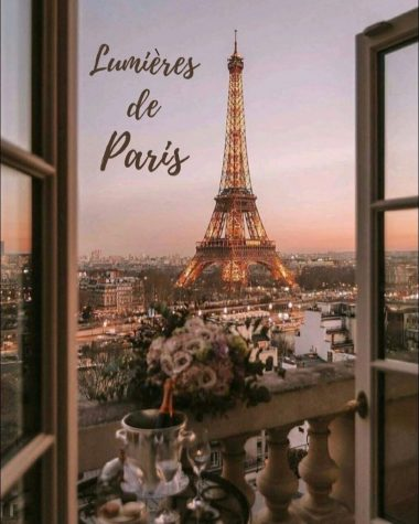 "The NFHS prom theme is ""Lumières de Paris,"" which translates to ""Lights of Paris."" Photo from Emerson Earley."