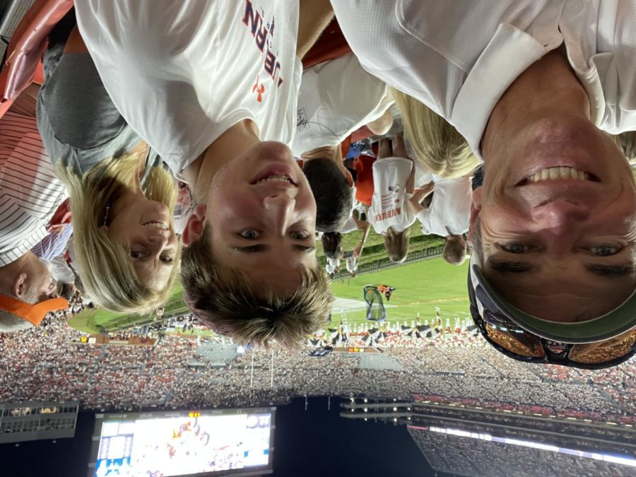 Senior wide receiver at North Forsyth, Garrett Achilles, and his family went south to the plains of Alabama to watch Auburn take on the Akron Zips.