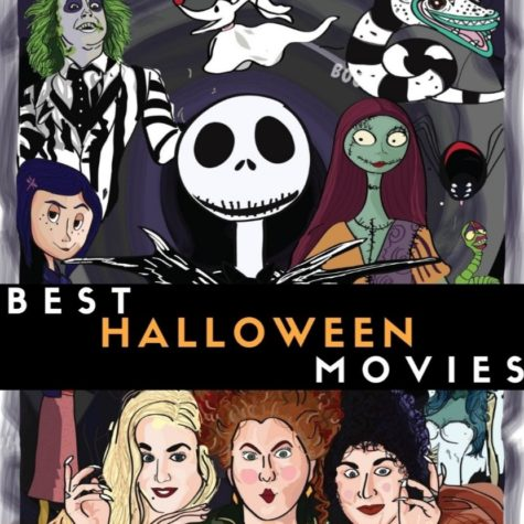 10 of the best Halloween movies to watch in October (a.k.a. the Spooky Season). Photo created by: Emmelyn Harrison.